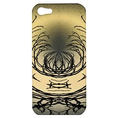 Atmospheric Black Branches Abstract Apple Iphone 5 Hardshell Case by Nexatart