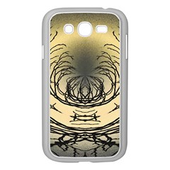 Atmospheric Black Branches Abstract Samsung Galaxy Grand Duos I9082 Case (white)