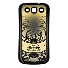 Atmospheric Black Branches Abstract Samsung Galaxy S3 Back Case (black)