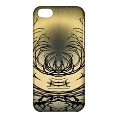 Atmospheric Black Branches Abstract Apple Iphone 5c Hardshell Case by Nexatart
