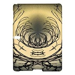 Atmospheric Black Branches Abstract Samsung Galaxy Tab S (10 5 ) Hardshell Case  by Nexatart