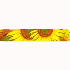 Sunflowers Background Wallpaper Pattern Small Bar Mats by Nexatart