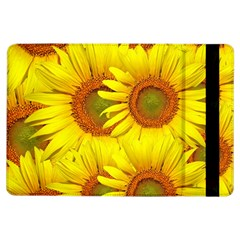 Sunflowers Background Wallpaper Pattern Ipad Air Flip