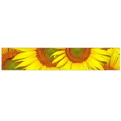 Sunflowers Background Wallpaper Pattern Flano Scarf (large)