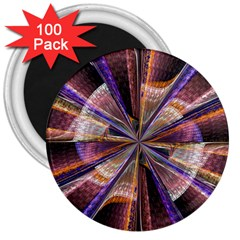 Background Image With Wheel Of Fortune 3  Magnets (100 Pack)