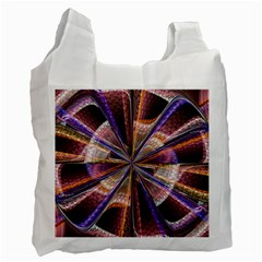 Background Image With Wheel Of Fortune Recycle Bag (one Side) by Nexatart