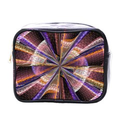 Background Image With Wheel Of Fortune Mini Toiletries Bags by Nexatart