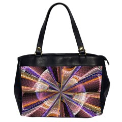 Background Image With Wheel Of Fortune Office Handbags (2 Sides)  by Nexatart