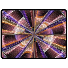 Background Image With Wheel Of Fortune Double Sided Fleece Blanket (large)