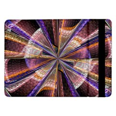 Background Image With Wheel Of Fortune Samsung Galaxy Tab Pro 12 2  Flip Case by Nexatart