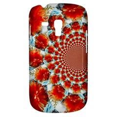 Stylish Background With Flowers Galaxy S3 Mini