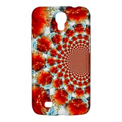 Stylish Background With Flowers Samsung Galaxy Mega 6 3  I9200 Hardshell Case