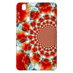Stylish Background With Flowers Samsung Galaxy Tab Pro 8 4 Hardshell Case by Nexatart