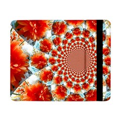 Stylish Background With Flowers Samsung Galaxy Tab Pro 8 4  Flip Case