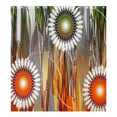 Floral Abstract Pattern Background Shower Curtain 66  X 72  (large)  by Nexatart