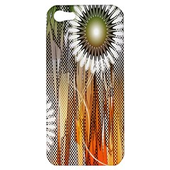 Floral Abstract Pattern Background Apple Iphone 5 Hardshell Case