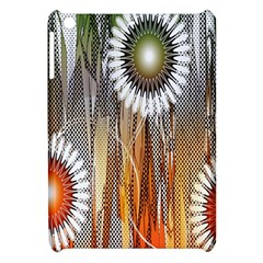Floral Abstract Pattern Background Apple Ipad Mini Hardshell Case by Nexatart