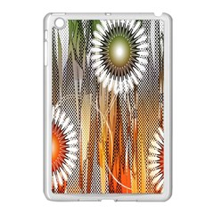 Floral Abstract Pattern Background Apple Ipad Mini Case (white)
