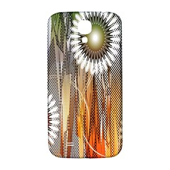 Floral Abstract Pattern Background Samsung Galaxy S4 I9500/i9505  Hardshell Back Case
