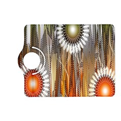 Floral Abstract Pattern Background Kindle Fire HD (2013) Flip 360 Case