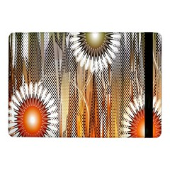 Floral Abstract Pattern Background Samsung Galaxy Tab Pro 10 1  Flip Case