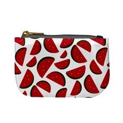 Fruit Watermelon Seamless Pattern Mini Coin Purses