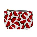 Fruit Watermelon Seamless Pattern Mini Coin Purses Front