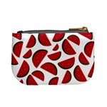 Fruit Watermelon Seamless Pattern Mini Coin Purses Back