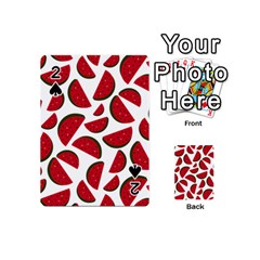 Fruit Watermelon Seamless Pattern Playing Cards 54 (mini)