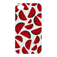 Fruit Watermelon Seamless Pattern Apple Iphone 4/4s Hardshell Case by Nexatart