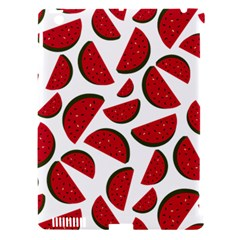 Fruit Watermelon Seamless Pattern Apple Ipad 3/4 Hardshell Case (compatible With Smart Cover)