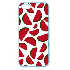 Fruit Watermelon Seamless Pattern Apple Seamless Iphone 5 Case (color)