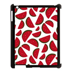 Fruit Watermelon Seamless Pattern Apple Ipad 3/4 Case (black)