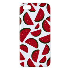 Fruit Watermelon Seamless Pattern Apple Iphone 5 Premium Hardshell Case