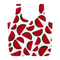 Fruit Watermelon Seamless Pattern Full Print Recycle Bags (l)  by Nexatart