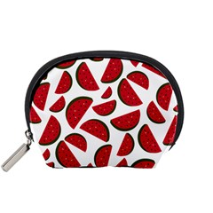 Fruit Watermelon Seamless Pattern Accessory Pouches (small)