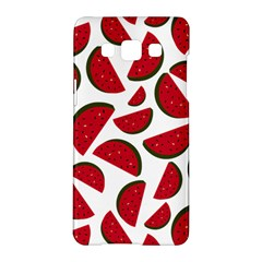 Fruit Watermelon Seamless Pattern Samsung Galaxy A5 Hardshell Case  by Nexatart