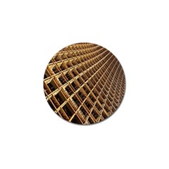 Construction Site Rusty Frames Making A Construction Site Abstract Golf Ball Marker (4 Pack) by Nexatart