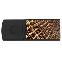 Construction Site Rusty Frames Making A Construction Site Abstract Usb Flash Drive Rectangular (4 Gb) by Nexatart