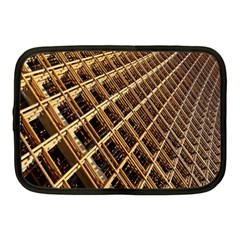 Construction Site Rusty Frames Making A Construction Site Abstract Netbook Case (medium)  by Nexatart
