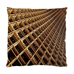 Construction Site Rusty Frames Making A Construction Site Abstract Standard Cushion Case (one Side) by Nexatart
