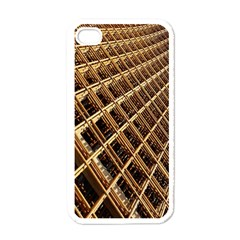 Construction Site Rusty Frames Making A Construction Site Abstract Apple Iphone 4 Case (white) by Nexatart
