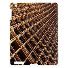 Construction Site Rusty Frames Making A Construction Site Abstract Apple Ipad 3/4 Hardshell Case by Nexatart