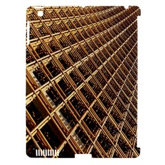 Construction Site Rusty Frames Making A Construction Site Abstract Apple Ipad 3/4 Hardshell Case (compatible With Smart Cover) by Nexatart