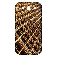 Construction Site Rusty Frames Making A Construction Site Abstract Samsung Galaxy S3 S Iii Classic Hardshell Back Case by Nexatart