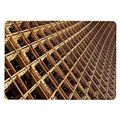 Construction Site Rusty Frames Making A Construction Site Abstract Samsung Galaxy Tab 10 1  P7500 Flip Case by Nexatart