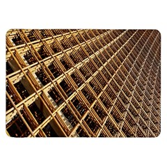 Construction Site Rusty Frames Making A Construction Site Abstract Samsung Galaxy Tab 8 9  P7300 Flip Case by Nexatart
