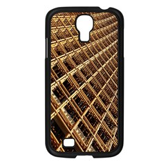 Construction Site Rusty Frames Making A Construction Site Abstract Samsung Galaxy S4 I9500/ I9505 Case (black)