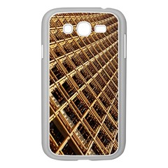 Construction Site Rusty Frames Making A Construction Site Abstract Samsung Galaxy Grand Duos I9082 Case (white) by Nexatart