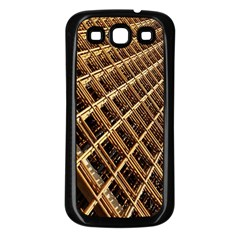 Construction Site Rusty Frames Making A Construction Site Abstract Samsung Galaxy S3 Back Case (black)